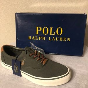 Polo Shoes, Thorton New Olive Canvas